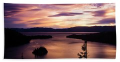 Emerald Bay Sunrise - Lake Tahoe, California Beach Sheet