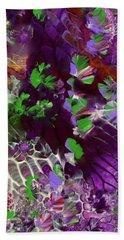 Emerald Butterflies Of Costa Rica Beach Sheet
