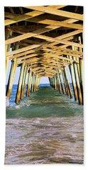 Emerald Isles Pier Beach Towel