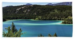 Emerald Lake 2 Beach Towel
