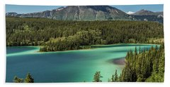 Emerald Lake Beach Towel