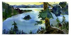 Emerald Morn, Lake Tahoe Beach Towel