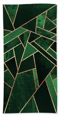 Emerald Night Beach Towel