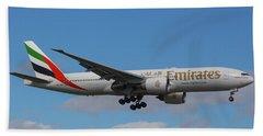 Emirates Air 777 Beach Sheet