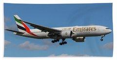 Emirates Air 777 Beach Towel
