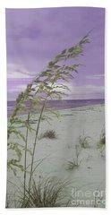 Emma Kate's Purple Beach Beach Towel by Rachel Hannah