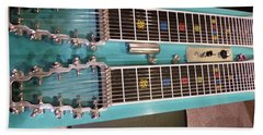 Emmons Lashley Legrande Pedal Steel Guitar Beach Towel
