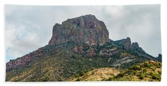 Emory Peak Chisos Mountains Beach Sheet