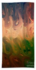 Emotion Acrylic Abstract Beach Towel
