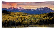 Empire Pass Autumn Beach Sheet
