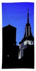 Empire State Building Beach Towel