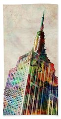 Empire State Building Beach Towels