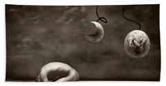 Emptiness Beach Towel by Jacky Gerritsen