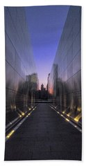 Empty Sky 911 Memorial Beach Sheet by Tom Singleton