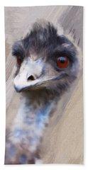 Emu Beach Towel
