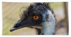Emu Beach Towel by Kenneth Albin
