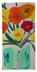 Enchanted Blossoms Beach Towel