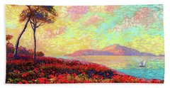 Enchanted By Poppies Beach Towel