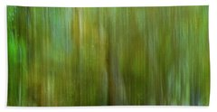 Enchanted Cypress Forest Beach Towel