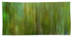 Enchanted Cypress Forest Beach Sheet