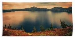 Enchanted Lake No3 Beach Towel