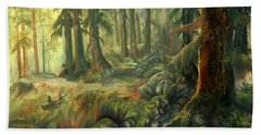 Enchanted Rain Forest Beach Towel