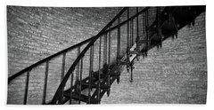 Enchanted Staircase II - Currituck Lighthouse Beach Sheet