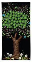 Enchanted Tree Beach Towel by Serena King