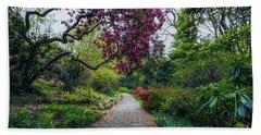 Enchanting Garden Beach Sheet