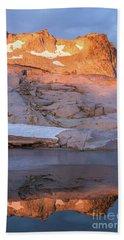 Enchantments Golden Peak Beach Towel