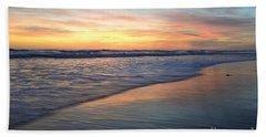 Encinitas Blue  Beach Towel