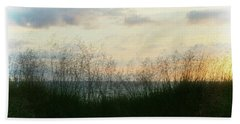 Beach Towel featuring the photograph End Of Day At Pentwater by Michelle Calkins