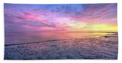 End Of The Day. Beach Towel
