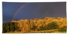 End Of The Rainbow Beach Towel