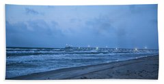End Of The Season Padre 3 Beach Towel