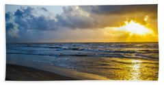 End Of The Season Padre 30 Beach Towel