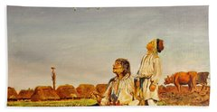 End Of The Summer- The Storks Beach Towel