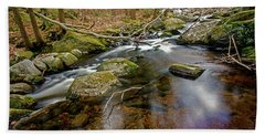 Enders Falls Beach Towel by Jim Gillen