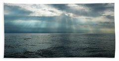 Endless Blue Ocean Beach Towel