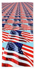 Beach Towel featuring the photograph Endless Glory By Kaye Menner by Kaye Menner