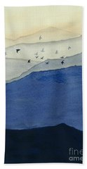 Endless Mountains Right Panel Beach Towel