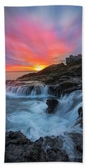 Endless Sea Beach Towel by James Roemmling