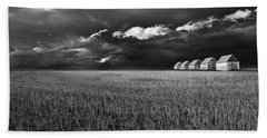 Beach Towel featuring the photograph Endless Sky by John Poon