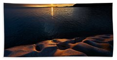 Beach Towel featuring the photograph Enduring Autumn by Doug Gibbons
