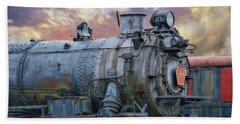Beach Towel featuring the photograph Engine 3750 by Lori Deiter