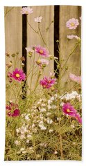 English Garden Beach Towel