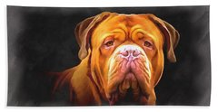 English Mastiff Beach Towel