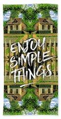 Enjoy Simple Things Marie Antoinette Hamlet Versailles Beach Sheet