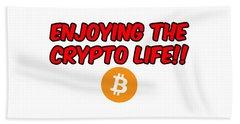 Enjoy The Crypto Life #3 Beach Sheet