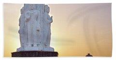 Enlightened Buddha  Beach Sheet